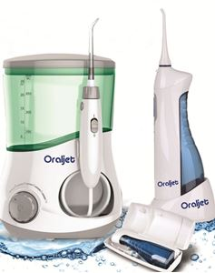 Picture of Oraljet Water Flosser Combo  OJ-1200 and OJ-750